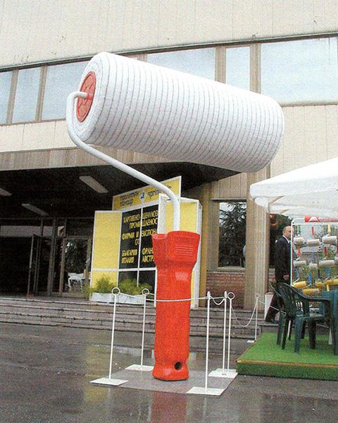 Largest paint roller